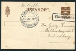 1938 Denmark Copenhagen Landbrugsudstillingen Paa Bellahej Stationery Postcard. First Day Of Exhibition. - 1913-47 (Christian X)