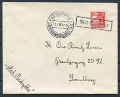1938 Denmark Copenhagen Landbrugsudstillingen Cover. First Day Of Exhibition. - Covers & Documents