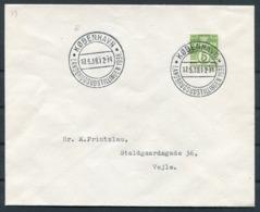 1938 Denmark Copenhagen Landbrugsudstillingen Cover. First Day Of Exhibition. - 1913-47 (Christian X)