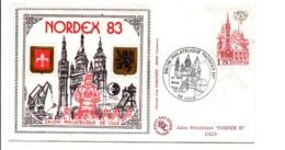 BLOC CNEP NORDEX SUR LETTRE 1983 - CNEP