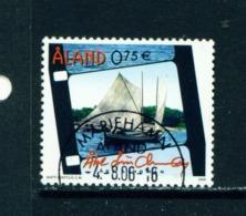 ALAND  -  2006 Ake Lindman 75c Used As Scan - Aland