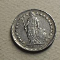 1944 - Suisse - Switzerland - 1/2 FRANC, (B), Argent, Silver, KM 23 - Suisse