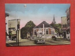 Main Street Coca Cola Sign  Doylestown  Hand Colored    Pennsylvania >  Ref 3719 - Sonstige