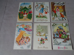 Beau Lot De 60 Cartes Postales De Fantaisie      Mooi Lot Van 60 Postkaarten Fantasie   - 60 Scans - Ansichtskarten