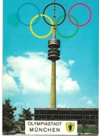 Olympiastad Munchen (Soccer Stadium- Olympic Games) - Olympic Games