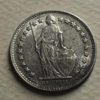 1950 - Suisse - Switzerland - 1/2 FRANC (B), Argent, Silver, KM 23 - Suisse