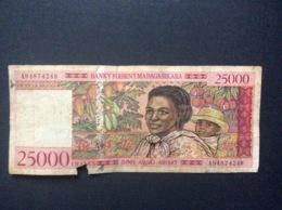 BILLET  MADAGASCAR  *25000 Francs - Madagascar