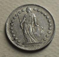 1951 - Suisse - Switzerland - 1/2 FRANC (B), Argent, Silver, KM 23 - Suisse