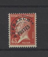 FRANCE.  YT  Préoblitérés  N° 6  Neuf *  1922-47 - Préoblitérés