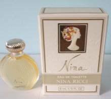 LOT De 12 MINIATURES PARFUM NINA De Chez NINA RICCI EDT 6ml NEUF - Miniatures Womens' Fragrances (in Box)