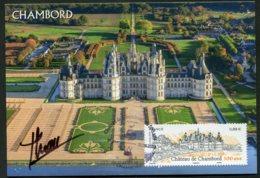 15620 FRANCE N°5331 ° 500 Ans Du Château De Chambord  P.J  Signé Du 31.05.2019   TB/TTB - 2010-...