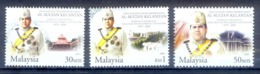 O116- Malaysia Silver Jubilee Of The Reign Of His Royal Highness Sultan Kelantan King Royal Palace. - Malaysia (1964-...)