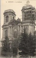 52 - LANGRES - LA CATHÉDRALE (ÉCHAFFAUDAGES) - Langres