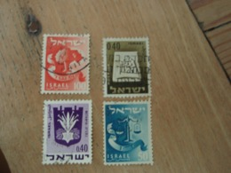 4 Timbres Israël - Israel