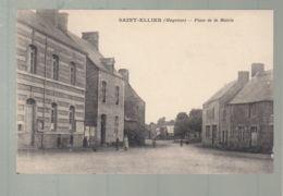 CPA - 53 - Saint-Ellier  - Place De La Mairie - Francia