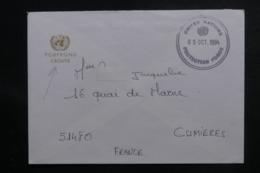 """FRANCE - Enveloppe De """" Forpronu Croatie """" Pour La France En 1994 - L 47028 - Storia Postale"""
