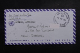 FRANCE - Aérogramme D'un Soldat Français En Bosnie Pour La France En 1993 - L 47029 - Storia Postale