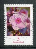 """Germany 2017 Mi.Nr.3296 Bogenmarke """"Freimarke,Blumen-Flammenblumen,(Phlox Sp.)""""1 Wert Used - Pflanzen Und Botanik"""