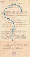 """Document-   """"Etat Français """"- Instauration  De Coupons Individuels De Rationnement-' - Documents"""