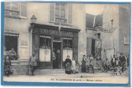 94 . VILLECRESNE  --  DEVANTURE DU COMMERCE Maison LEBRUN - France