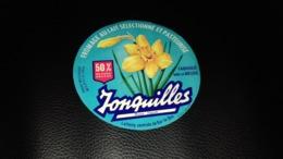 """Etiquette De Fromage """" Jonquilles  """" - Cheese"""