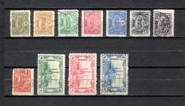 Turquía  1913 .-  Y&T  Nº   160/167-174/176 - 1858-1921 Imperio Otomano