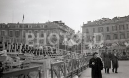 1957 STREET SCENE ITALY ITALIA AMATEUR 35mm ORIGINAL NEGATIVE Not PHOTO No FOTO - Photographica