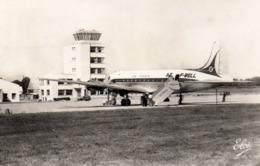 ANGLET - Biarritz - Aérodrome De Parme. Un Départ - Elcé 7058 - Petite Dentelée, écrite 1958 - Tbe - Anglet