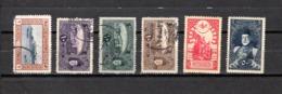 Turquía  1916-17 .-  Y&T  Nº   424/428-431 - 1858-1921 Imperio Otomano