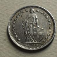 1963 - Suisse - Switzerland - 1/2 FRANC (B), Argent, Silver, KM 23 - Suisse