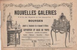 -  18 BOURGES, NOUVELLES GALERIES - Ancien Petit Catalogue De 24 Pages Illustrées, PARFUM, ACCESSOIRES DE BEAUTE  - 011 - Catalogues