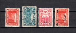 Turquía  1917-18 .-  Y&T  Nº   569-570-571-579 - 1858-1921 Imperio Otomano