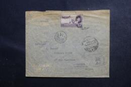EGYPTE - Enveloppe Commerciale Du Caire En 1971 Pour La Suisse En 1949 Avec Contrôle Postal - L 47046 - Lettres & Documents
