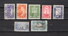 Turquía  1917-19 .-  Y&T  Nº   572/578 - 1858-1921 Imperio Otomano