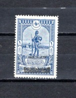 Turquía  1919 .-  Y&T  Nº   583    ( Doblez ) - 1858-1921 Imperio Otomano