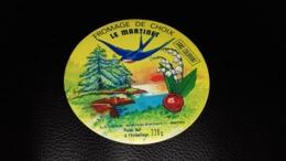 """Etiquette De Fromage """" Le Martinet    """" - Cheese"""