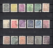Turquía  1923-25 .-  Y&T  Nº   668/685 - 1921-... República