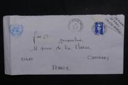 FRANCE - Enveloppe D'un Soldat à L'Unprofor Pour La France En 1994 , Oblitération Du Bureau Militaire - L 47049 - Storia Postale
