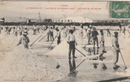 La Nouvelle (Aude) - Salins De Sainte-Lucie - Mise Du Sel En Tas - Port La Nouvelle
