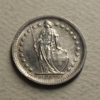 1966 - Suisse - Switzerland - 1/2 FRANC, (B), Argent, Silver, KM 23 - Suisse