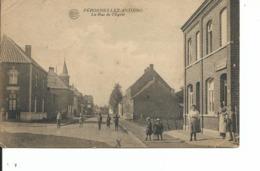 Peronnes Lez Antoing  Rue De L'eglise  A Voyagé En 1924 - Belgique