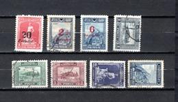 Turquía  1929 .-  Y&T  Nº   741/743-744/748 - 1921-... República