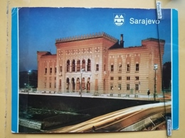KOV 303-16 -  SARAJEVO, BOSNIA AND HERZEGOVINA, BIBLIOTEKA, LIBRARY, BIBLIOTHEK - Bosnia Erzegovina