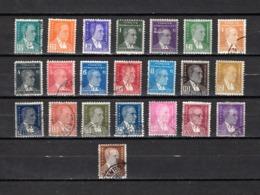 Turquía  1931-38 .-  Y&T  Nº   804/822 - 1921-... República