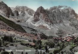 Cartolina Acceglio Frazione Saretto Panorama 1968 - Cuneo