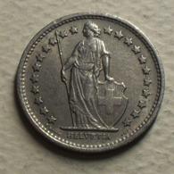 1968 - Suisse - Switzerland - 1/2 FRANC, (sans B), KM 23a.1 - Suisse