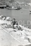 1966 SEASIDE PORTUGAL AMATEUR 35mm ORIGINAL NEGATIVE Not PHOTO No FOTO - Photographica