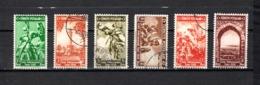 Turquía  1938 .-  Y&T  Nº   886/891 - 1921-... República