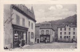 Cpa-43-blesle-pas Sur Delc.-personnages-boulevard Du Vallot-edi Margerit N°12284 - Blesle
