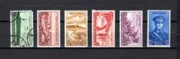 Turquía  1938 .-  Y&T  Nº   894/899    (  894  Falta Punta  ) - 1921-... República